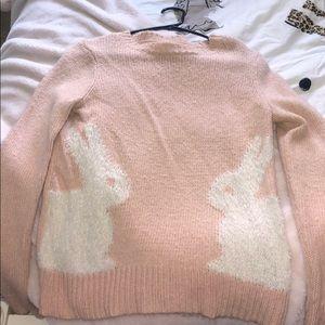 Adorable bunny sweater Lauren Conrad